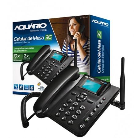 Telefone Celular de Mesa - 5 Bandas -  Ca-40 3G - Aquário