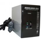 Modulador Ágil VHF/UHF/CATV/CFTV - Proeletronic
